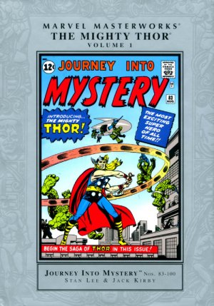 Marvel Masterworks - The Mighty Thor édition TPB hardcover (cartonnée)