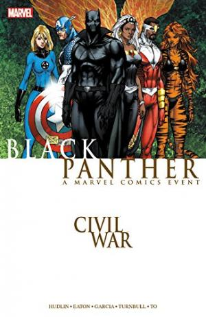 Civil war - Black Panther édition TPB softcover (souple)