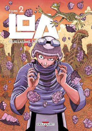 couverture, jaquette Loa 2  (Delcourt Manga)