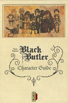 couverture, jaquette Black Butler - Character guide   (kana)