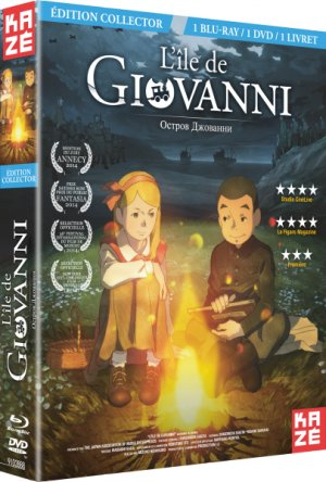 L'Île de Giovanni édition Combo