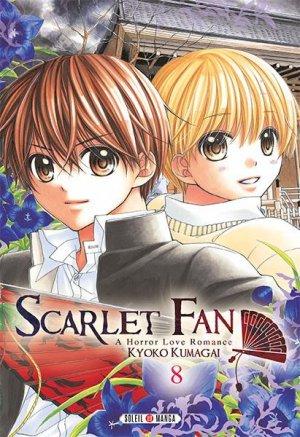 couverture, jaquette Scarlet Fan 8  (soleil manga)