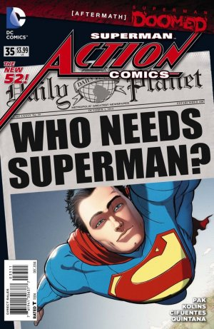 Action Comics # 35 Issues V2 (2011 - 2016)