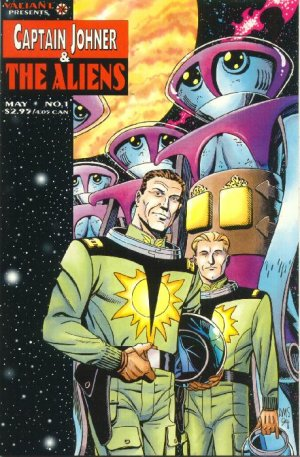 Captain Johner & the Aliens édition Issues