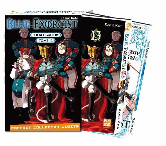 Blue Exorcist édition Tome 13 + pocket gallery