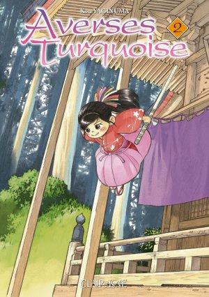 couverture, jaquette Averses turquoise 2  (Clair de lune Manga)