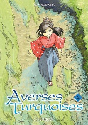 couverture, jaquette Averses turquoise 4  (Clair de lune Manga)