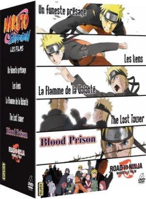 Naruto Shippûden - Les 6 films édition Coffret DVD