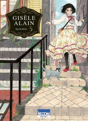 couverture, jaquette Gisèle Alain 5