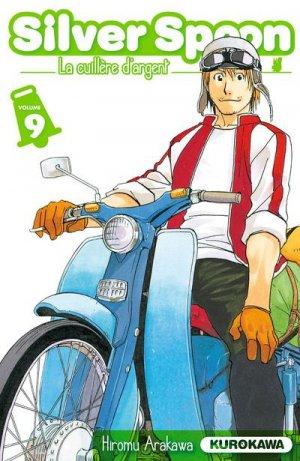 couverture, jaquette Silver Spoon - La Cuillère d'Argent 9  (Kurokawa)