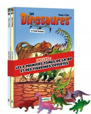 Les dinosaures en bande dessinée édition coffret tomes 1et 2