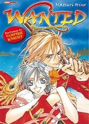 couverture, jaquette Wanted   (Panini manga)