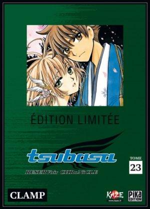 couverture, jaquette Tsubasa Reservoir Chronicle 23 COLLECTOR DVD (Pika) Manga