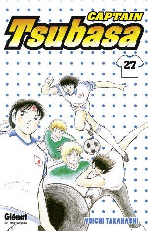 couverture, jaquette Captain Tsubasa 27 Réédition Française (Glénat Manga)