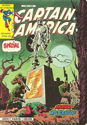 Captain America # 1 Kiosque