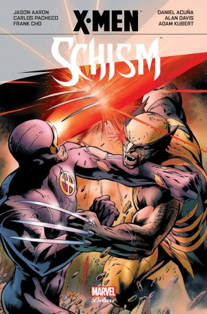 X-men - Schism édition TPB hardcover (cartonnée) - Marvel Deluxe