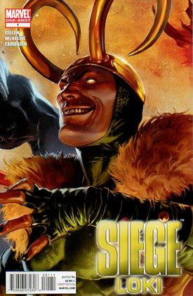 Siege - Loki # 1 Issues