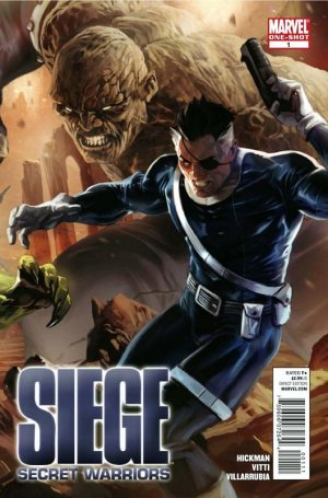 Siege - Secret Warriors 1