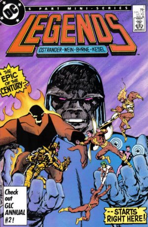 Legends # 1 Issues