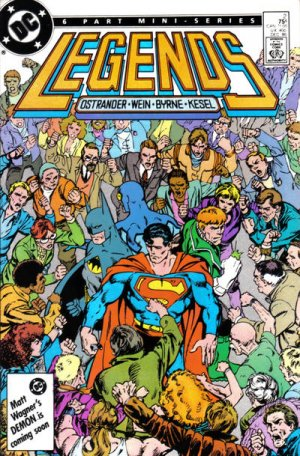 Legends # 2 Issues