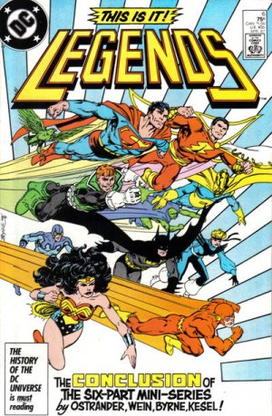 Legends # 6 Issues