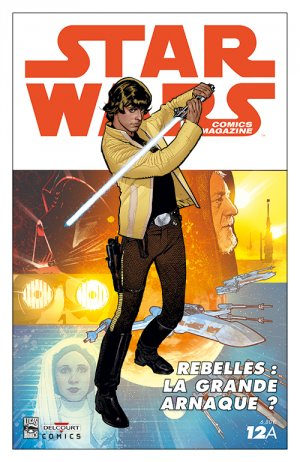 Star Wars comics magazine # 12