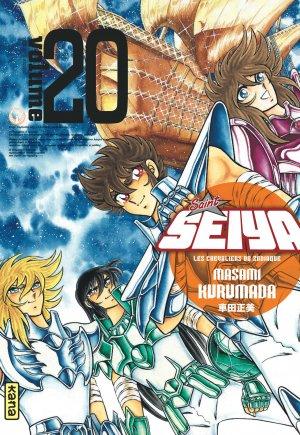 couverture, jaquette Saint Seiya - Les Chevaliers du Zodiaque 20 Deluxe Française (kana) Manga