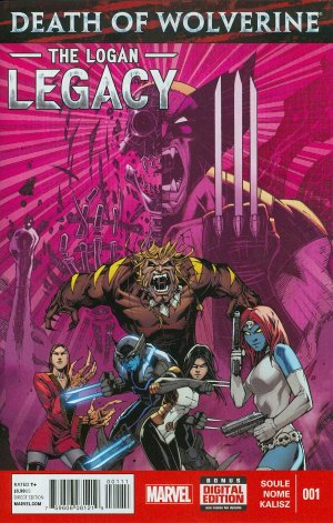 Death of Wolverine - The Logan Legacy # 1 Issues V1 (2014 - 2015)