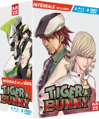 Tiger and Bunny édition Intégrale - Combo Collector DVD + Blu Ray