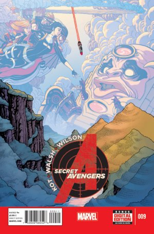 Secret Avengers # 9 Issues V3 (2014 - 2015)