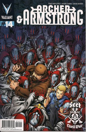 Archer and Armstrong # 14 Issues V2 (2012 - 2014)