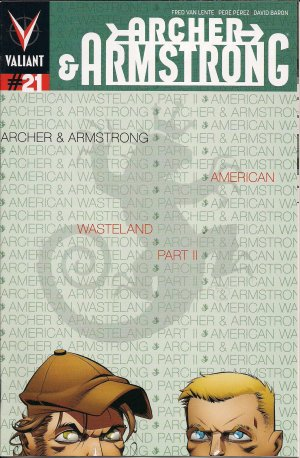 Archer and Armstrong # 21 Issues V2 (2012 - 2014)