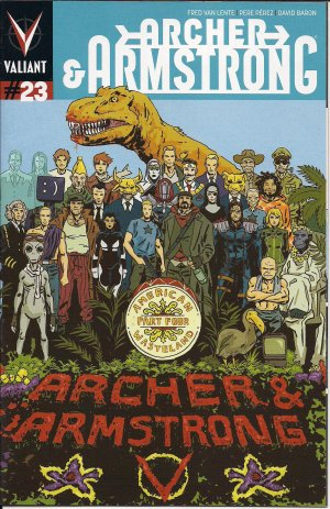 Archer and Armstrong # 23 Issues V2 (2012 - 2014)