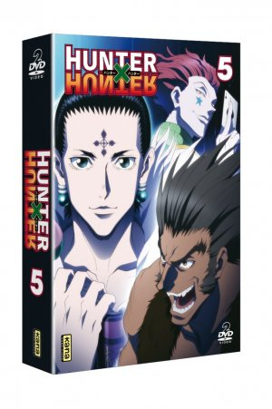 couverture, jaquette Hunter X Hunter (2011) 5 Coffret DVD (Kana home video)