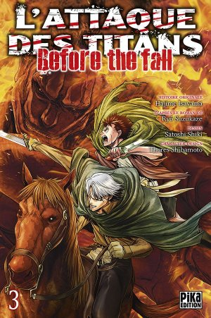 L'Attaque des Titans - Before the Fall # 3