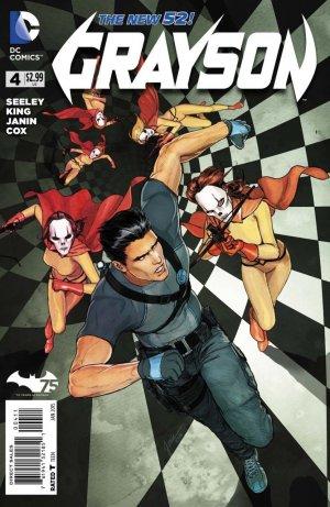 Grayson # 4 Issues V1 (2014 - 2016)