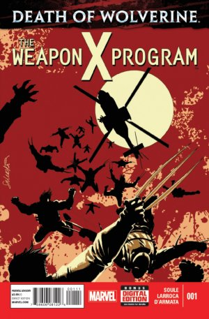 Death of Wolverine - The Weapon X Program # 1 Issues V1 (2014 - 2015)