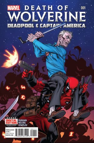 Death of Wolverine - Deadpool and Captain America # 1 Issues V1 (2014)