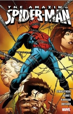Spider-Man - One More Day Sketchbook # 5 TPB softcover - Run Straczinski