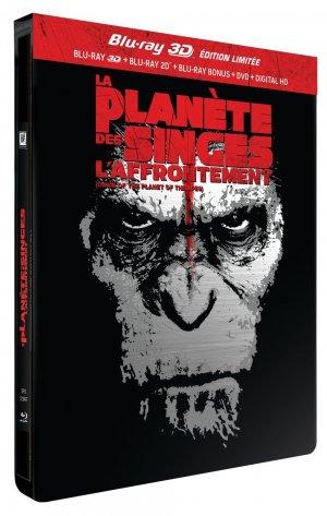 La Planète des singes : l'affrontement édition Limitée Pack Métal