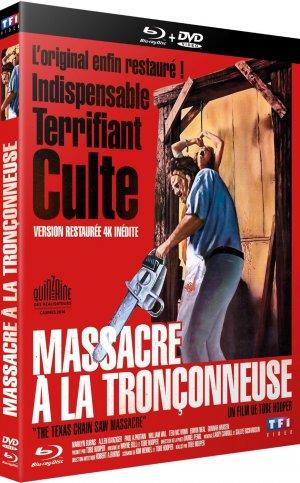 Massacre à la tronçonneuse édition Combo - Version Restaurée 4K