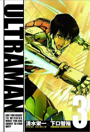 couverture, jaquette Ultraman 3  (Shogakukan)