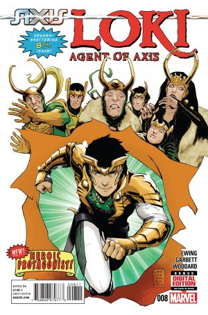 Loki - Agent d'Asgard # 8 Issues (2014 - 2015)