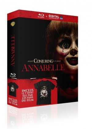 Annabelle édition Coffret Blu-ray + T-shirt