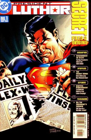 President Luthor - Secret Files and Origins # 1 Issues
