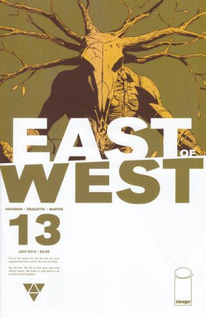 East of West # 13 Issues (2013 - Ongoing)