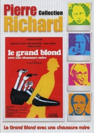 Le Grand Blond avec une chaussure noire édition Simple