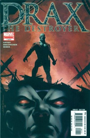 Drax the Destroyer édition Issues