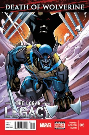 Death of Wolverine - The Logan Legacy # 5 Issues V1 (2014 - 2015)