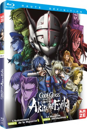 couverture, jaquette Code Geass - Akito 1 Blu-ray (Kaze)